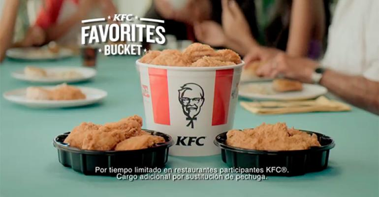 KFC targets Hispanic audience with family-focused campaign