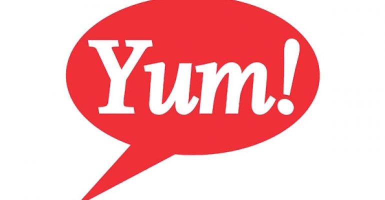 Yum: China sales to recover slowly