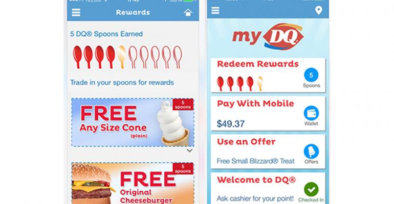 Dairy Queen tests mobile app