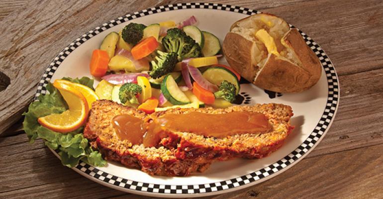 Black Bear Diner39s meatloaf dinner