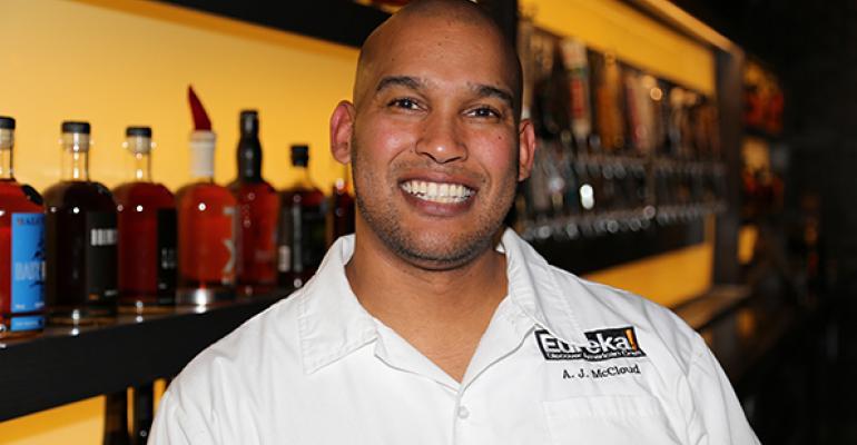 AJ McCloud Eureka39s culinary director
