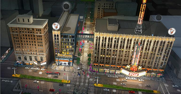 A rendering of Little Caesars39 expanded headquarters
