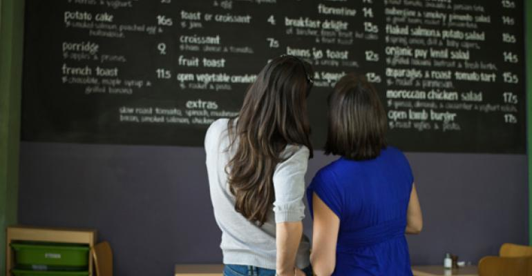 Opinion: Why menu labeling is good for business