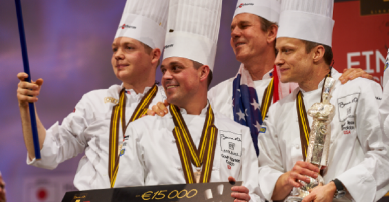 Team USA takes the silver in Bocuse d'Or