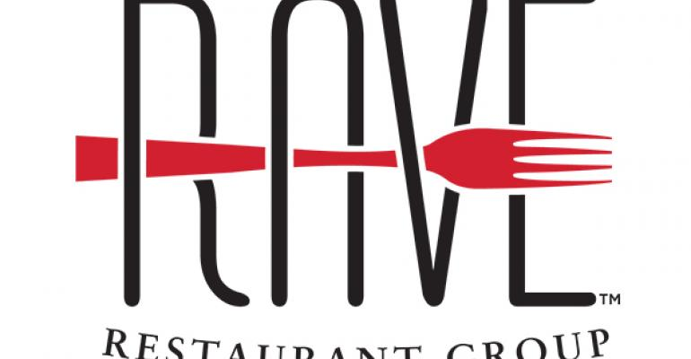 New logo for RAVE Restaurant Group Inc