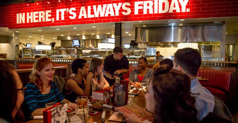 TGI Fridays tests new ldquoFridays Service Stylerdquo technology with tablet
