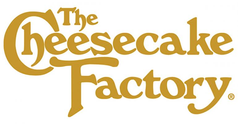 The Cheesecake Factory may acquire a new concept