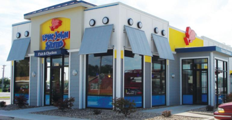 Long John Silver's names James O'Reilly CEO