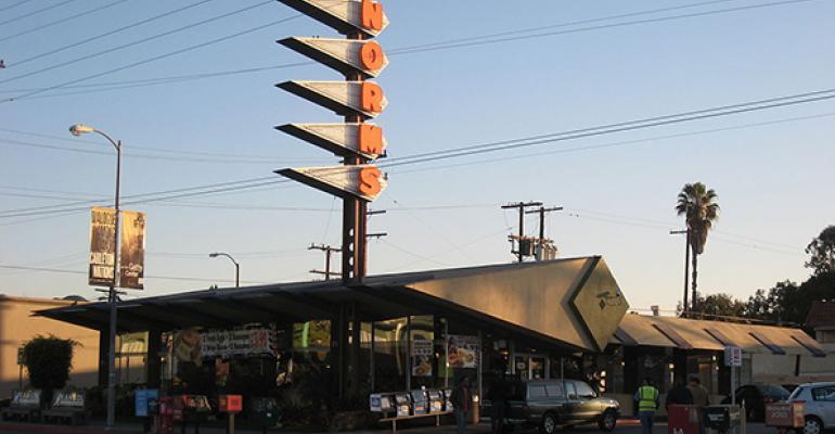 Normrsquos location built in 1957 on La Cienega Boulevard in Los Angeles