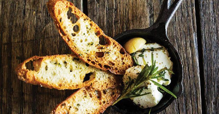 Punch Bowl Social39s gastrodiner fare includes such dishes as this quotcheese in a jarquot