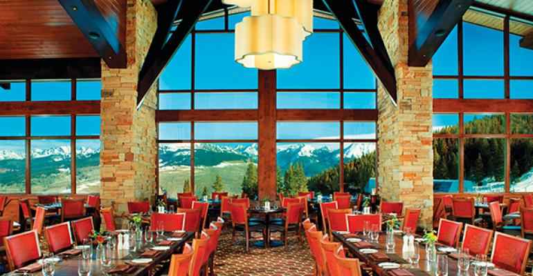 This skimountain restaurant in Vail Colo mixes warm homey ambiance with contemporary aspirations in Alpine cuisine inspired by French Swiss Italian and Rocky Mountain cooking