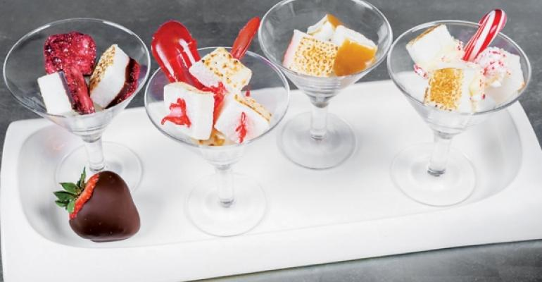 Alcoholspiked marshmallows at the Shadow Mountain Lodge at the St Regis Aspen Resort