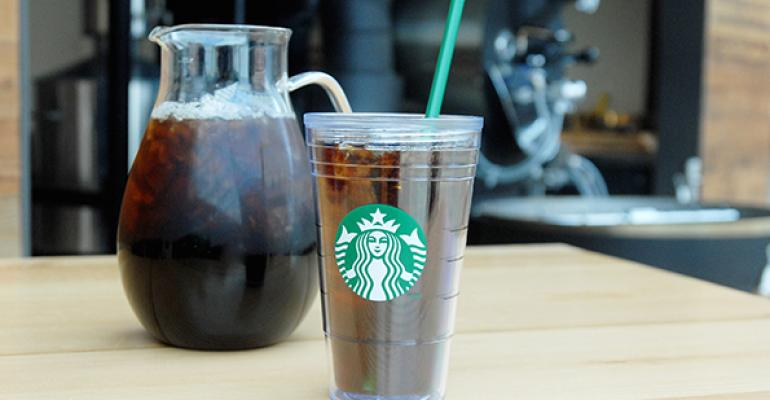 Starbucks said cold brew will be a permanent menu item in the 2800 units which include regions where iced coffee is the most popular