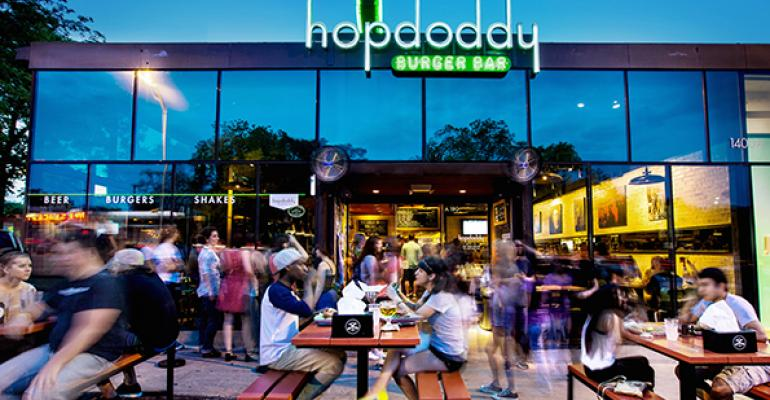 Hopdoddy unit on South Congress in Austin Texas