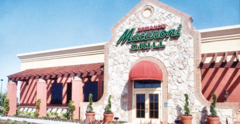 Ignite to sell Romano's Macaroni Grill
