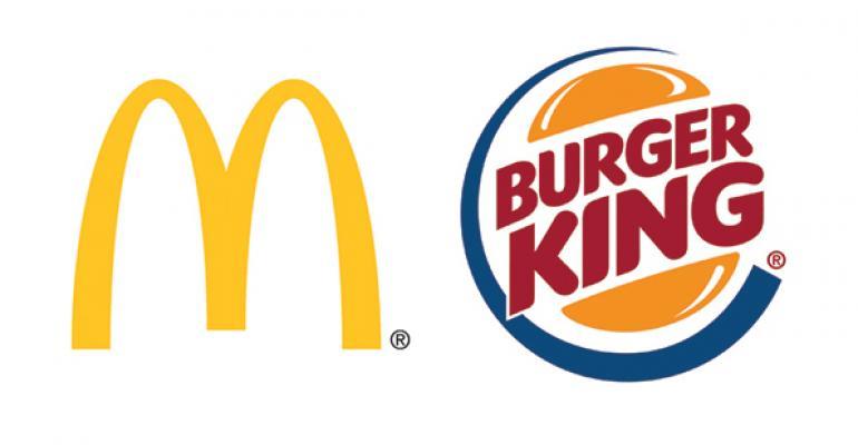 McDonald's, Burger King push chicken amid high beef costs