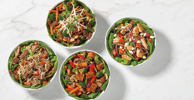 The limitedtime dishes called ldquoBuff Bowlsrdquo replace the noodles with a double portion of vegetables