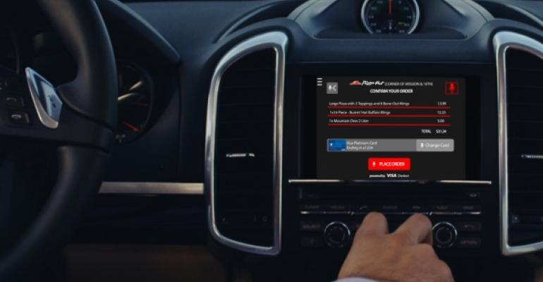 Pizza Hut is testing technology that would allow customers to order pizza through their cars