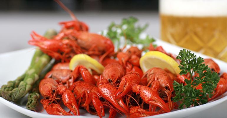 New Orleans chef puts seasonal seafood on the menu