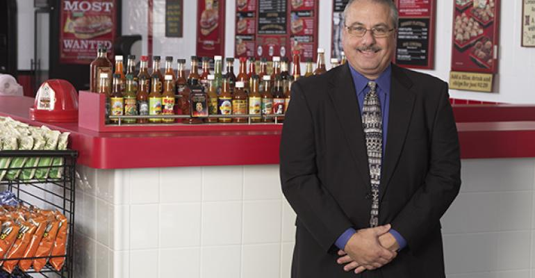 Vince Burchianti chief financial office for Firehouse Subs