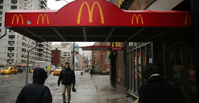 McDonalds Corp39s samestore sales fell 23 percent in the first quarter as the companyrsquos twoyear sales slump continued