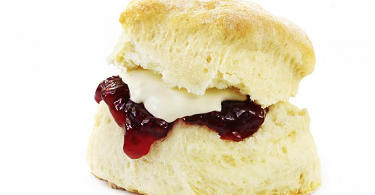 Biscuits and jam are a classic combination