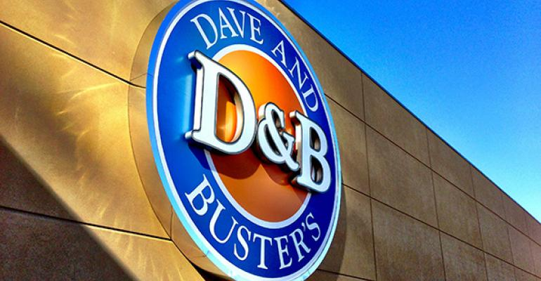 Dave & Buster's 4Q same-store sales rise 10.5%