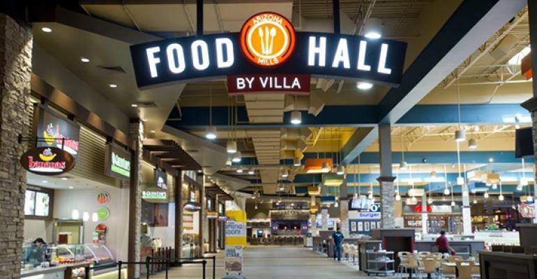 ldquoFood Hall by Villardquo in Arizona Mills mall in Tempe Ariz