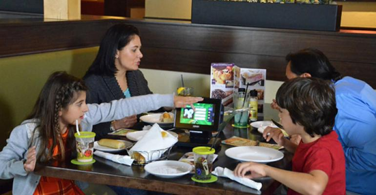 Olive Garden will start a phased rollout of Ziosk tablets to more restaurants in May