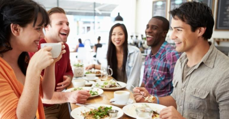 Are consumers eating out more than eating in?