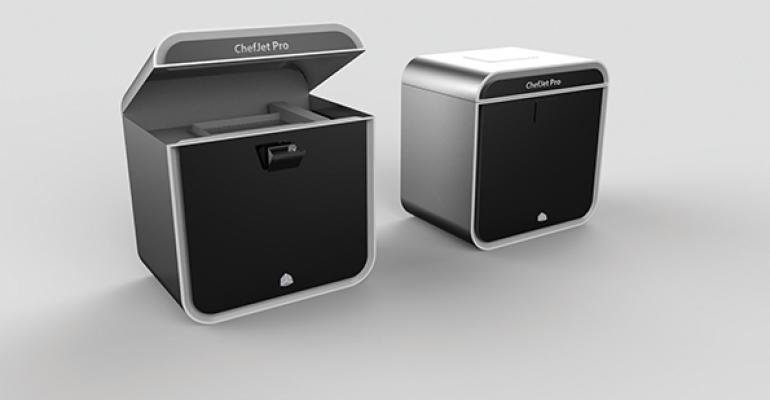 The ChefJet Pro debuted at the NRA Show this weekend