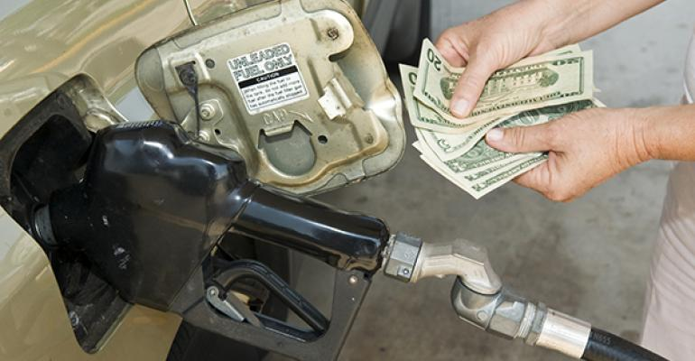 Gas prices fall, and restaurant sales surge