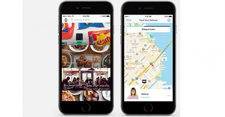 Postmates which was founded in 2011 has expanded to deliver food groceries more Photo Postmates