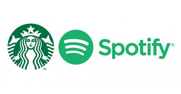 Starbucks to create 'music ecosystem' with Spotify