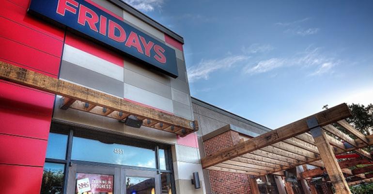 New TGI Fridays unit in Addison Texas