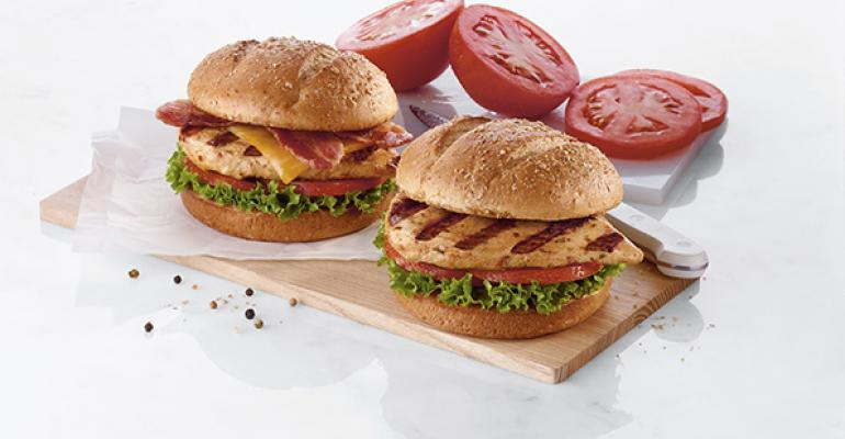 ChickfilA grilled sandwiches
