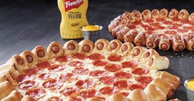 Pizza Hut to debut Hot Dog Bites pie