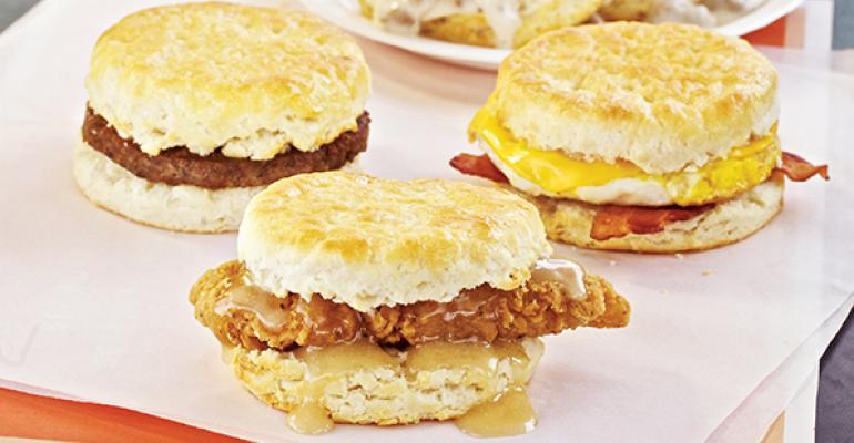 Whataburger breakfast sandwiches