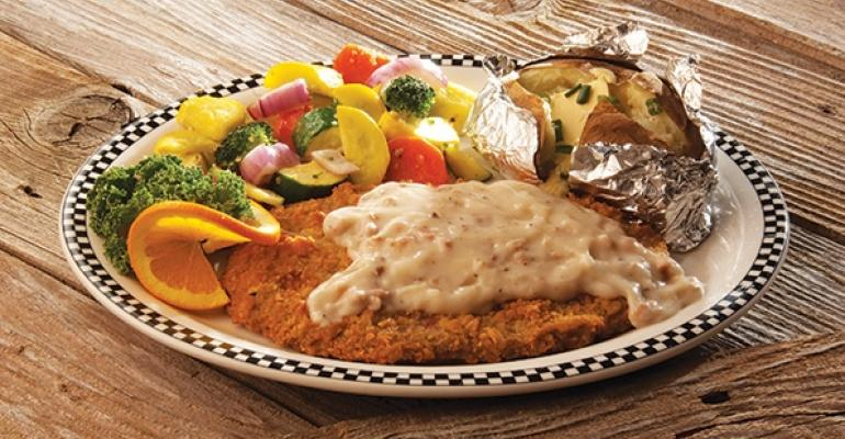 Black Bear Diner features ldquobearsizedrdquo portions of hearty comfort food such as this chickenfried steak