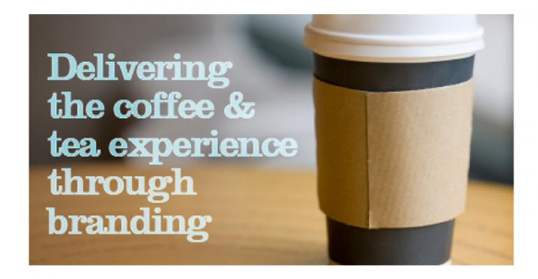 Delivering the coffee & tea experience through branding