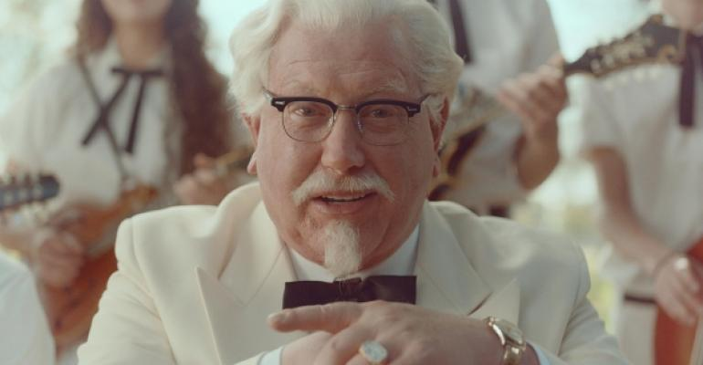 Comedian Darrell Hammond plays KFC39s Colonel Sanders in a rebranding campaign
