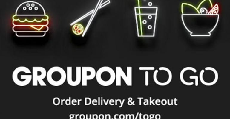 Groupon launches restaurant delivery service