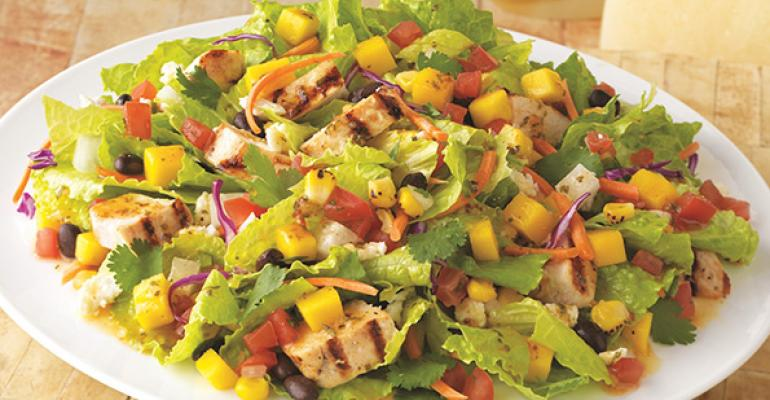 On The Borderrsquos Mango Chicken Salad