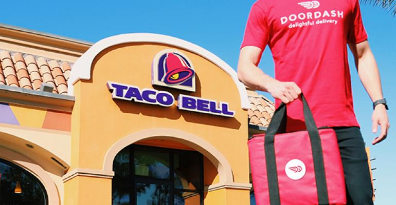 Taco Bell launches delivery with DoorDash