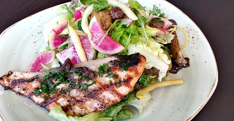 Tender Greens Market Fish Big Salad