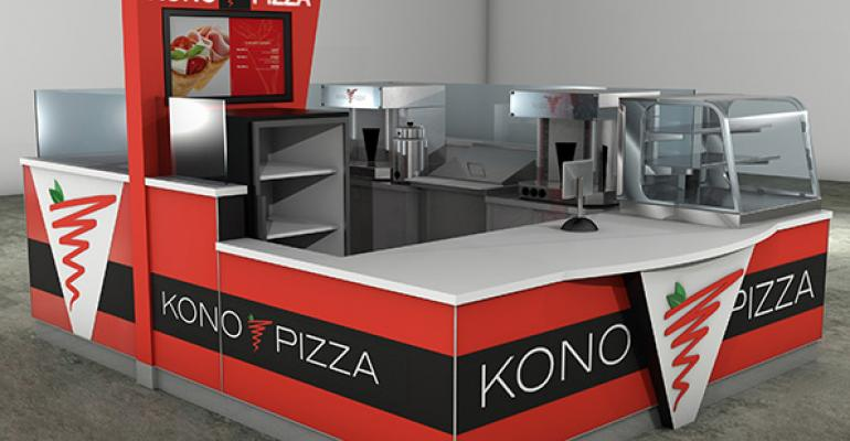 Kono Pizza kiosk