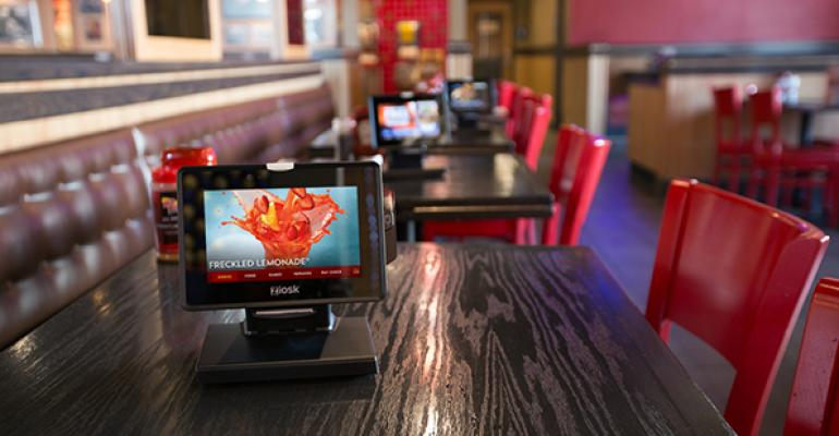 Red Robin39s touchscreen Ziosk tablets