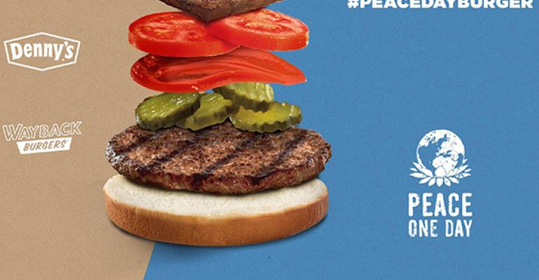 Burger King unites brands for Peace Day Burger