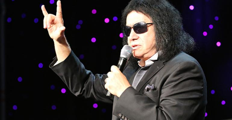 Gene Simmons of KISS and Rock and Brews