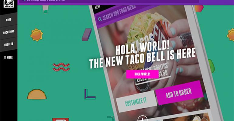 Taco Bell39s new responsive website